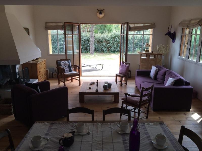 A louer cet été villa pour 9 personnes proche de la plage sur le Bassin d'Arcachon