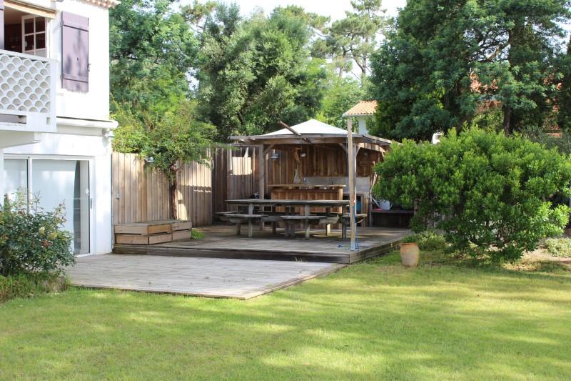 Location villa 4 chambres - 8 personnes - avec splendide vue sur le bassin et accès direct plage CAP-FERRET LA VIGNE