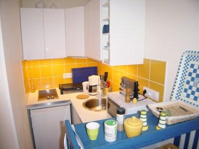 Location appartement 1 chambre - 4 personnes - avec jardinet dans résidence avec piscine CAP-FERRET CENTRE