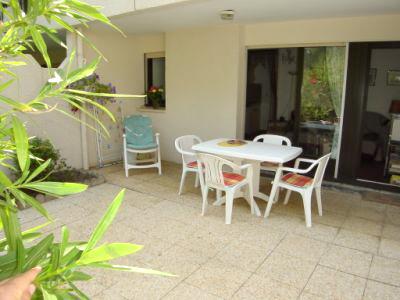 A louer appartement pour 4 personnes centre cap-ferret résidence avec piscine et parking