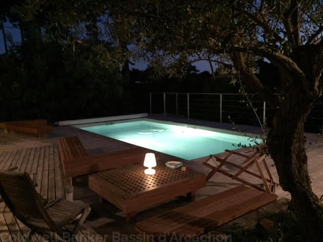 location cap-ferret à proximité avec piscine chauffée