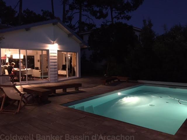 Villa cap-ferret à proximité avec piscine chauffée