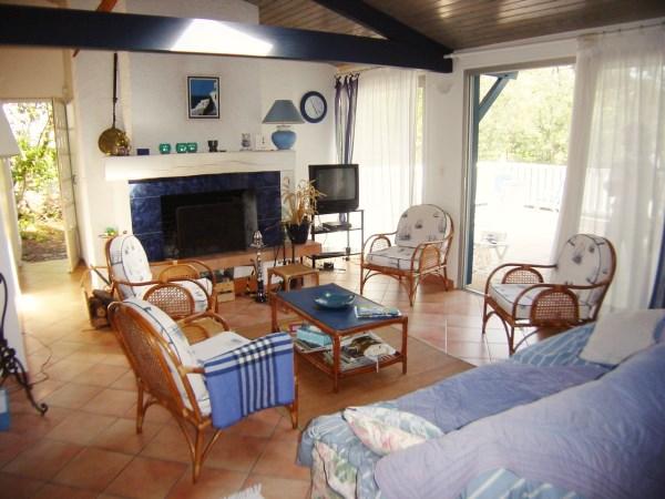 A louer au Cap-Ferret villa 4 chambres