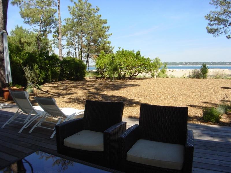 location saisonnière vue sur le Bassin d'Arcachon au Cap-Ferret