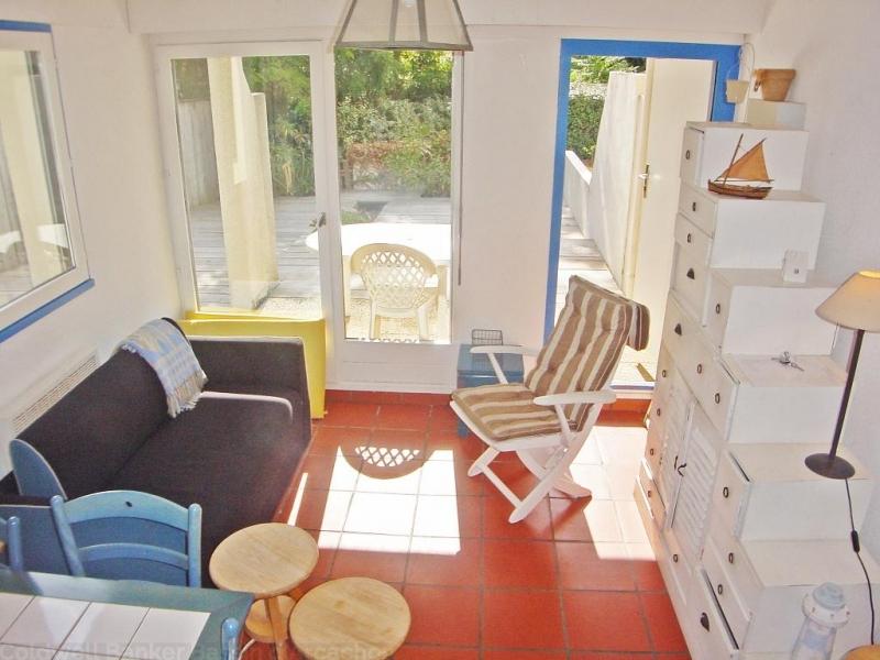 Appartement duplex à louer dans résidence avec piscine au cap-ferret
