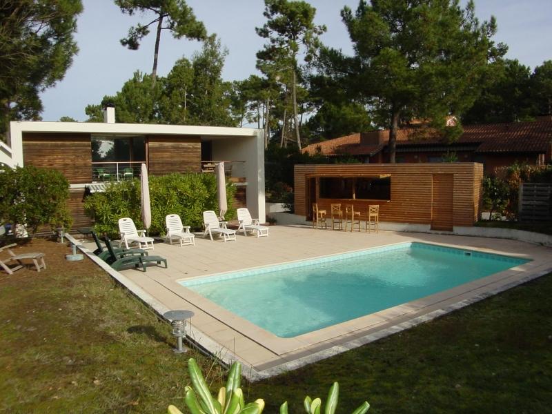 recherche villa à louer avec piscine proche du Cap-Ferret