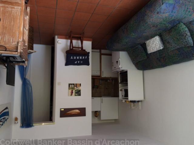 Location villa CAP-FERRET CENTRE 1 chambre - 4 personnes - dans résidence avec piscine proche toutes commodités
