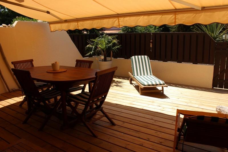Location saisonnière appartement plain pied centre cap-ferret