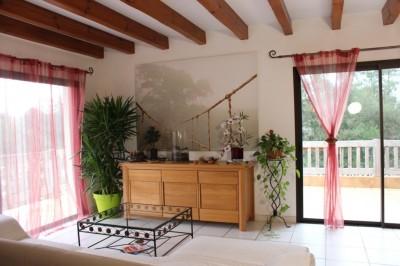villa location pyla piscine