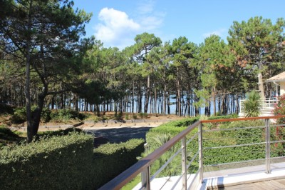 location pereire plage vue bassin standing