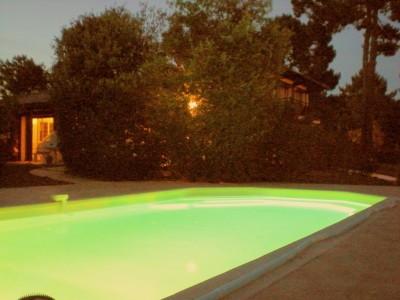 Location saionnière de villa avec piscine à Pyla sur Mer