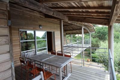 location grande villa pyla piscine