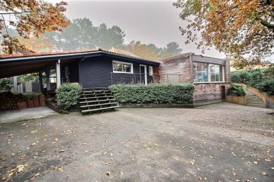 Acheter villa ossature bois 5 chambres avec piscine bassin arcachon la teste de buch