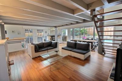Vente maison familiale ossature bois 5 chambres bassin arcachon la teste de buch