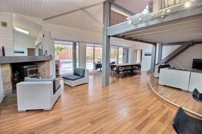 Achat villa ossature bois 5 chambres avec piscine bassin arcachon la teste de buch