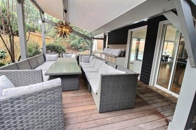 Recherche villa ossature bois 5 chambres avec piscine bassin arcachon la teste de buch