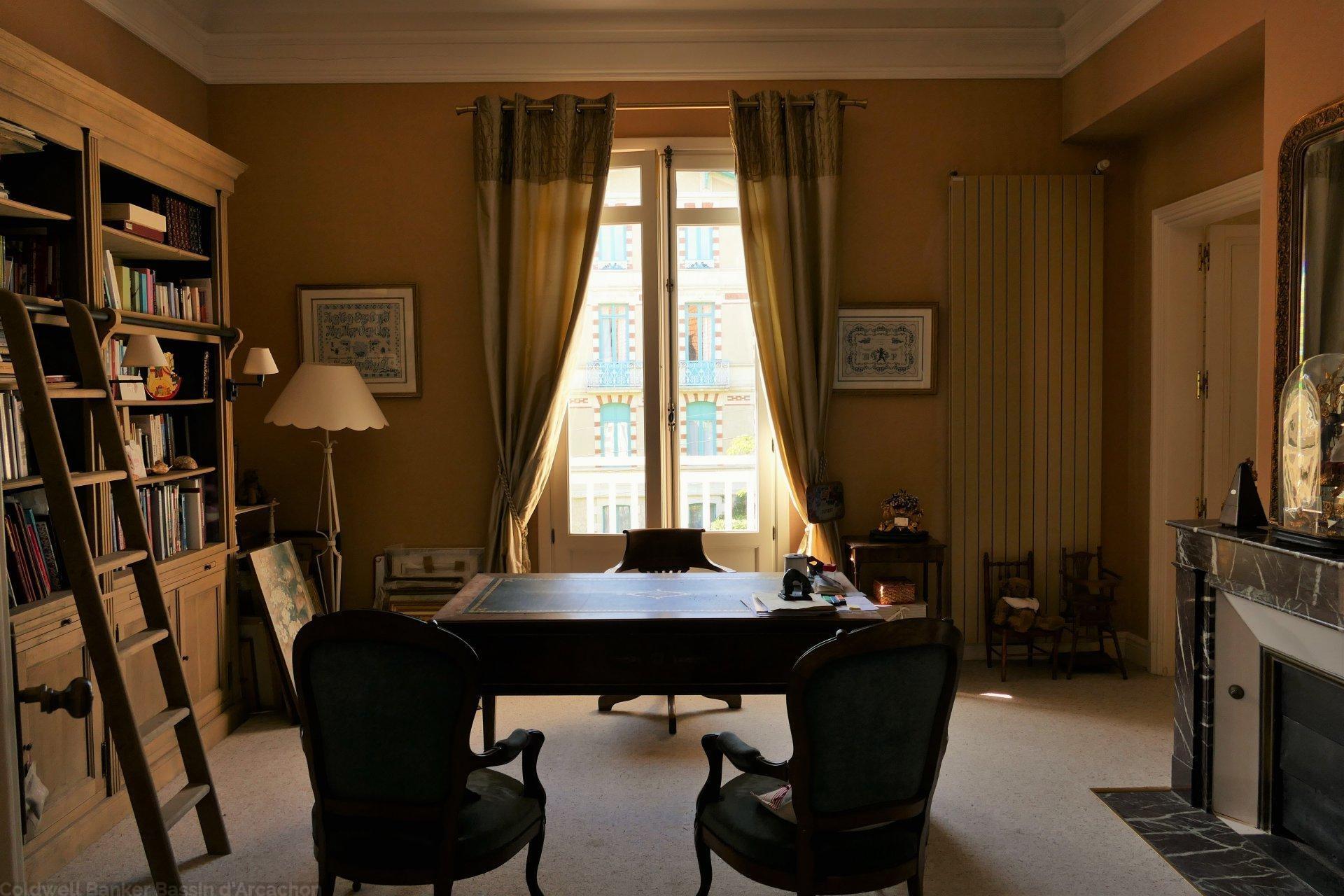 Acheter villa arcachonnaise exceptionnelle de standing ville d'hiver arcachon