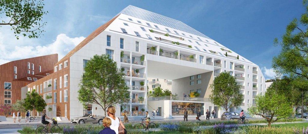 Appartement neuf T4 avec vue dégagée sur la Garonne BORDEAUX DARWIN