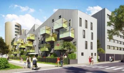 Bordeaux Bassin à Flots - Appartement duplex neuf à vendre - 4 chambres avec terrasse