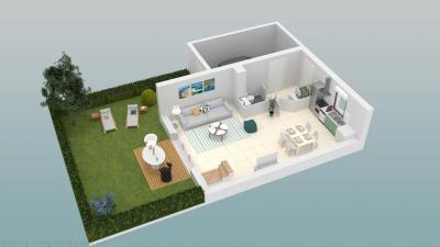 Vente Maison / Villa BORDEAUX LE HAILLAN Villa neuve de 3 chambres proche d'un parc