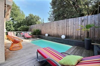 Villa contemporaine 4 chambres avec piscine a vendre Le moulleau arcachon