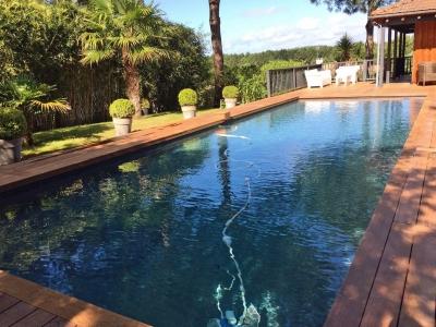acheter une villa d'architecte en bois avec piscine à la Teste de Buch proche Pyla sur Mer