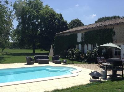 Vente jolie maison de campagne proche Bordeaux BLAIGNAC