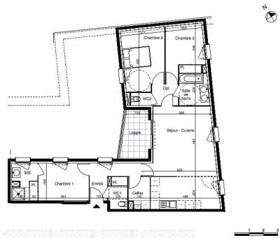 Appartement neuf à vendre à Bordeaux euratlantique architecture contemporaine et de qualité