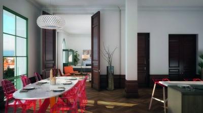 acheter appartement avec grande pièce de vie résidence sécurisée Arcachon