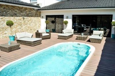 Villa contemporaine de 2012 au calme à 30 minutes de l'aéroport de Mérignac et 10 minutes du centre de Bordeaux