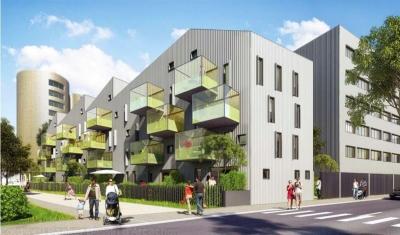 Studio ou 5 pièces à vendre à Bordeaux bassin à flot proche chartrons dans programme immobilier neuf