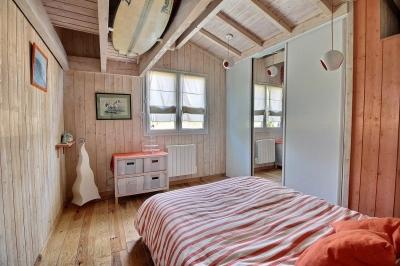 Maison contemporaine ossature bardage bois à vendre sur le bassin d arcachon
