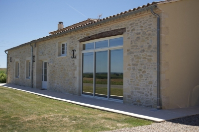 maison pierre décoration maison de campagne a vendre près bordeaux