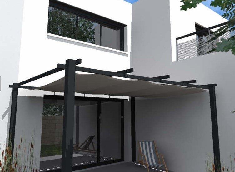 Maison neuve de 111m2 à vendre bordeaux caudéran prestations haut de gamme