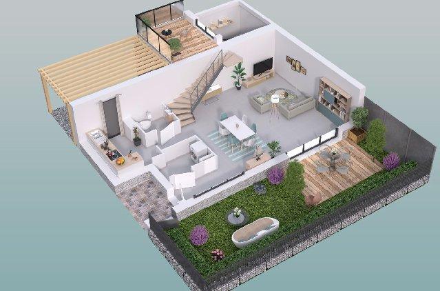 Cherche maison neuve avec jardin Bordeaux Caudéran