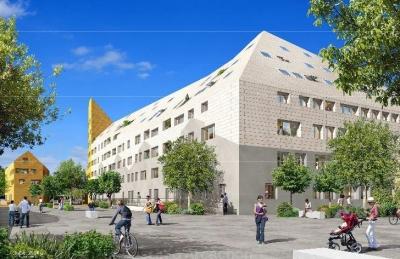 A vendre quartier darwin à bordeaux appartements 122 m2 au calme