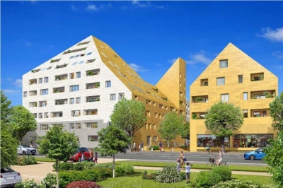 Appartement de standing triplex à vendre Bordeaux quartier darwin