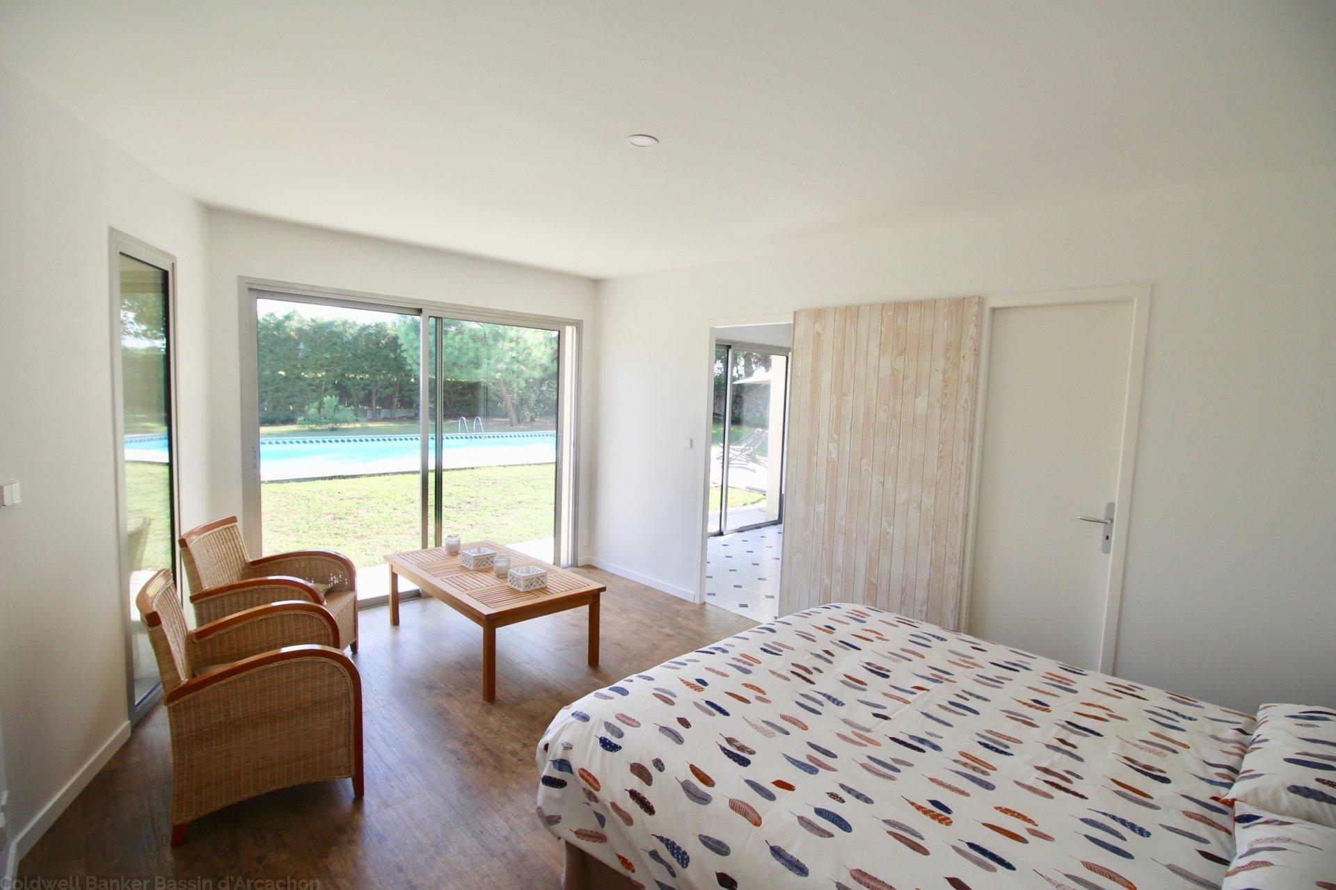 acheter maison familiale 4 chambres avec jardin et piscine merignac proche bordeaux