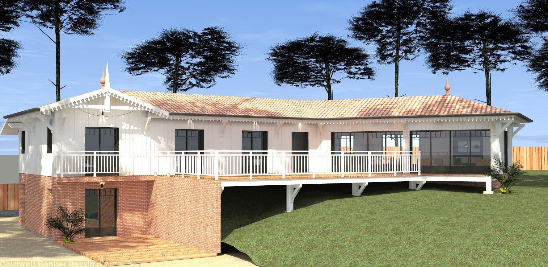 Villa Gaume à vendre arcachon pyla sur mer