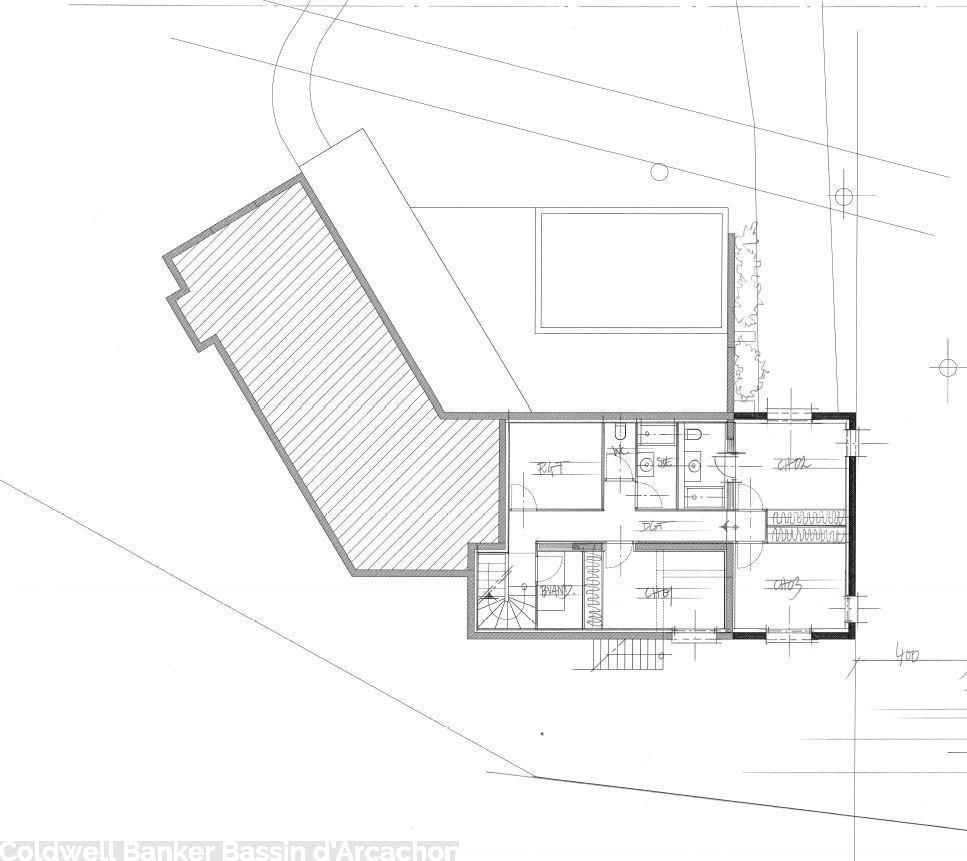 plan de construction maison pyla sur mer 6 chambres
