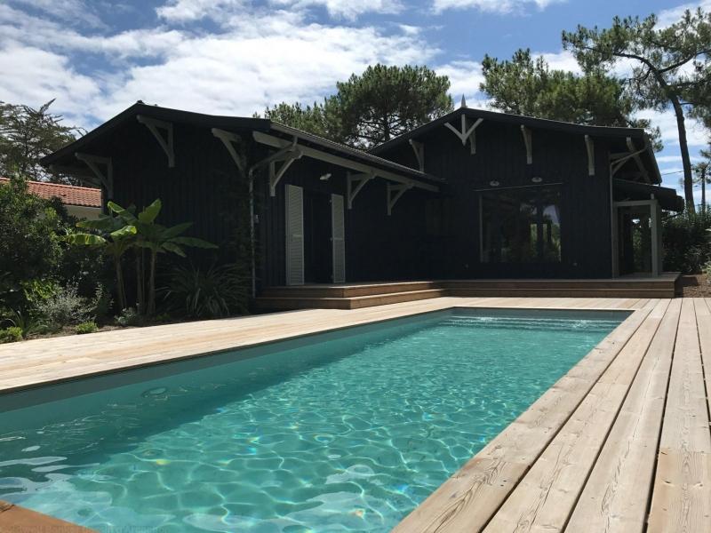 Villa en bois esprit cabane a vendre cap ferret centre