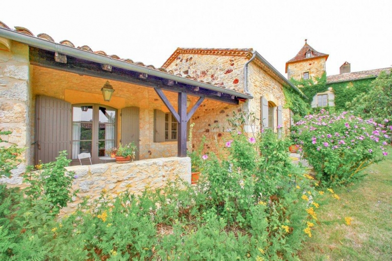 Achat propriété ancien monastère avec 2 maisons d'hôtes paulhiac lot-et-garonne
