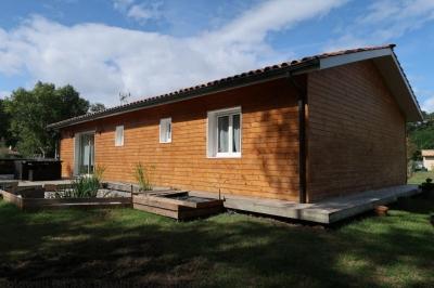 Construction maison en bois a vendre près de bordeaux