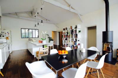 Vente maison plus 140 m2 3 chambres et jardin bordeaux barrière de toulouse