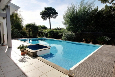 Achat maison plain pied 4 chambres avec piscine bassin arcachon