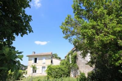 Vente propriété viticole composée de 2 maisons en blayais saint ciers de canesse