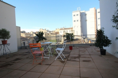 Appartement 2 chambres avec terrasse a vendre bordeaux hyper centre