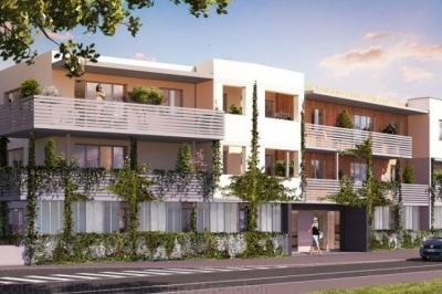 Appartement standing T3 2 chambres avec Balcon et parking a vendre proche bordeaux métropole talence
