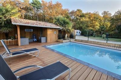 maison familiale 5 chambres avec terrain et piscine  a vendre gujan mestras