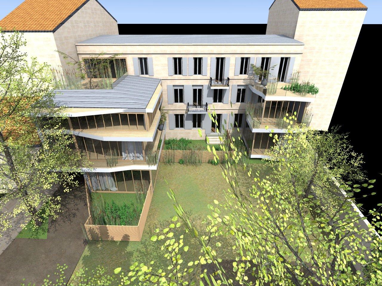 Acheter appartement T4 refait à neuf BORDEAUX CENTRE SAINT GENES